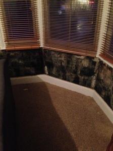 Black Manure Smelling Plaster under the living room window