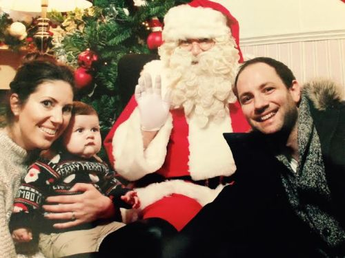 Meeting Father Christmas for the first time 19:12:15