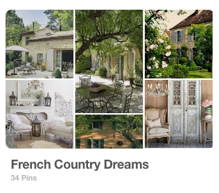 French Country Dreams by @madamemathieu