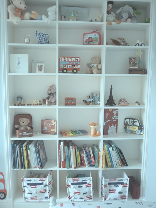 Shelves are your best friend when it comes to nurseries and children's bedrooms